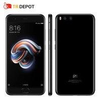 Оригинал Сяо Ми mi Note 3 Prime Snapdragon 660 Octa Core 4 ГБ оперативная память 64 ГБ Встроенная 5,5 четыре стороны Изогнутые стекло 16MP mi UI 9 мобильный телефон