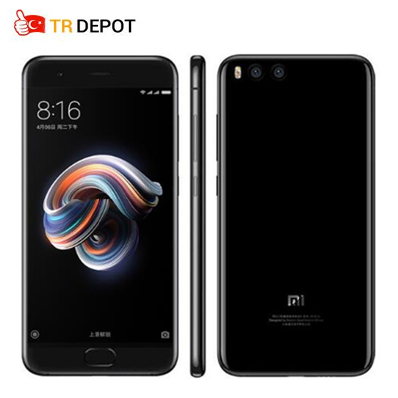 "Original Xiaomi Mi Note 3 Prime Snapdragon 660 Octa Core 4GB RAM 64GB ROM 5.5""Four Side Curved Glass 16MP MIUI 9 Mobile Phone"