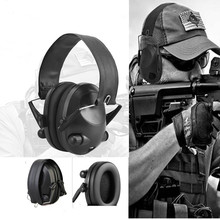 LESHP Tactical Sport Headphones For Hunting Shooting Sport Noise TAC 6s Hearing Protector Earmuffs Folding Protection