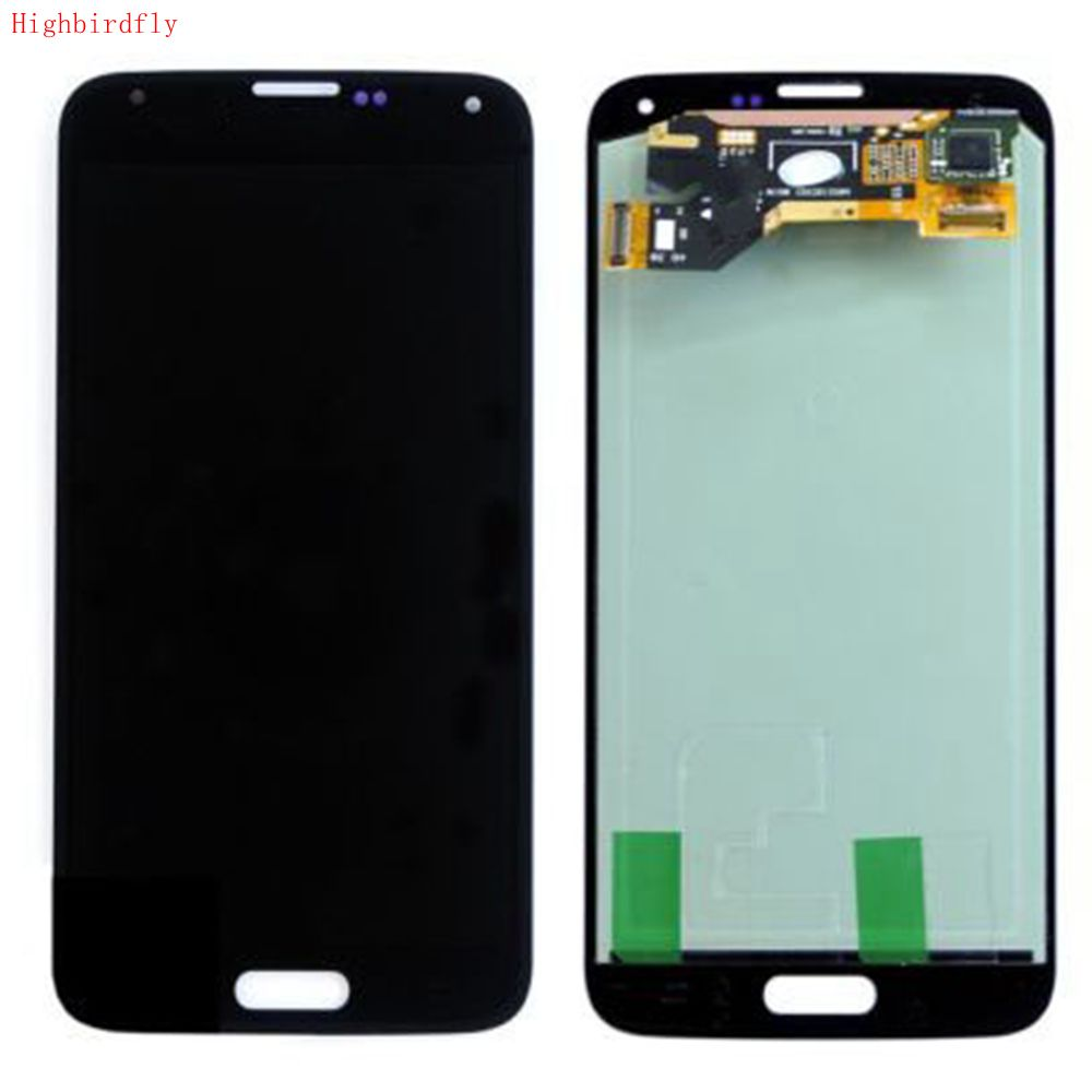 For Samsung Galaxy S5 G900 G900F <font><b>G900H</b></font> G900P G900I G900T Lcd Screen <font><b>Display</b></font>+Touch Glass DIgitizer Assembly Repair lcds Amoled image