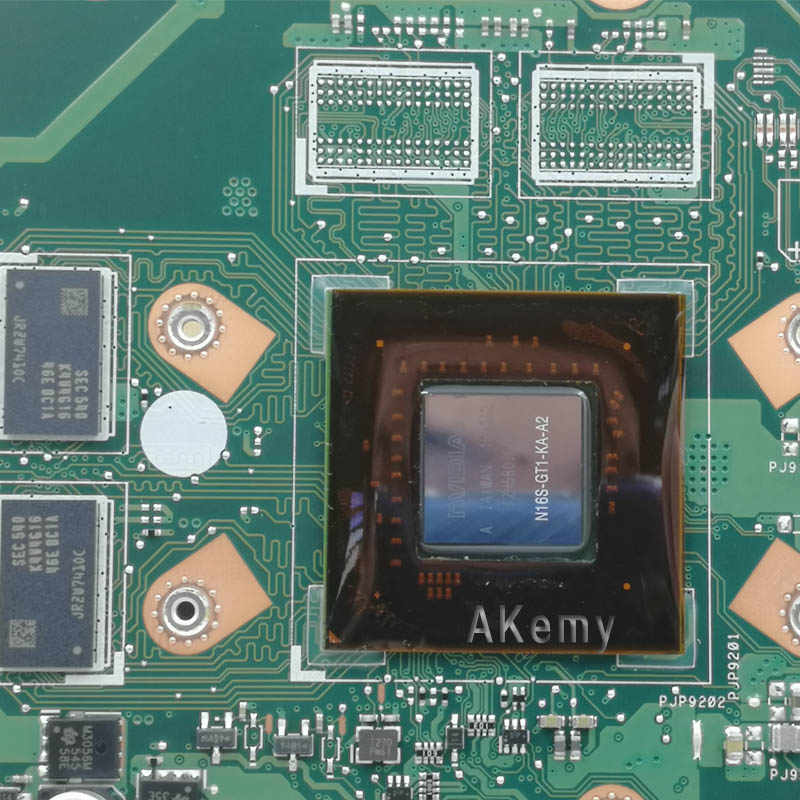X756UX  Laptop motherboard For Asus  X756U X756UWK X756UX X756UJ X756UB X756UV mainboard  I7-6500U GT920M 2G DDR3 Memory slot
