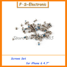 "10sets/lot Full Screws Set for iphone 6 6s with 2 Bottom Screws for iPhone 6 screw 4.7'' 6 6s plus 5.5""  New Replacement"
