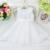 Muchachas de flor vestido vestido de bola sin mangas al por menor correa del cordón del bowknot vestido de fiesta Tamaño: 3,4, 6,8, 10,12 L9002