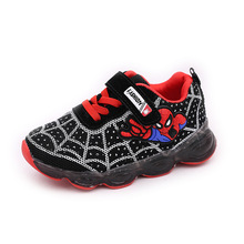 E CN led  kids shoes girls boys luminous glowing sneakers mesh for lighted baby children