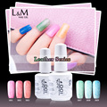 6 Pcs Free Shipping Leather Series Gel Nails Polish Art Varnish Asian Suppliers High Quality Brilliant Colors long-lasting