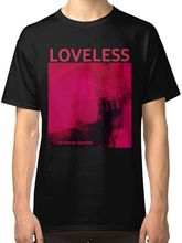 My Bloody Valentine Loveless Mens Black T-Shirt Tees Clothing Men Summer Short Sleeves T Shirt Middle Aged Top Tee