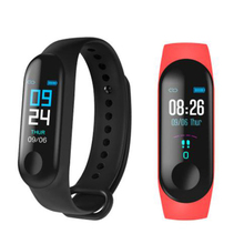 HORUG Smart Wristband Fitness Tracker Bracelet For Xiaomi Mi Band Heart Rate Monitor Sport Pedometer M3 for Men Woman