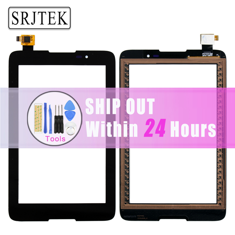 Srjtek New  7 inch For Lenovo TAB A7-50 A3500 A3500-HV Touch Screen Digitizer Panel Front Glass With 100% Tested srjtek new 7 inch lcd display touch screen digitizer assembly replacements for lenovo tab 2 a7 10 a7 10f free shipping