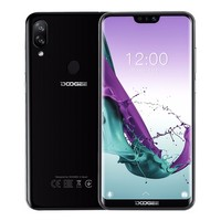 DOOGEE N10 Android 8.1 mobile Phone 16.0MP fingerprint Octa Core 3GB+32GB cell phones 5.84 inch 19:9 3360mAh 4G LTE Smartphone