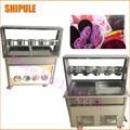 Neue Kommerziellen Eis Rolle Maschine Tief 2 5 cm Thailand Braten Eis Rolle Maschine Gerollt Gebraten Eismaschine|cream machine|ice cream machineice cream roll machine -