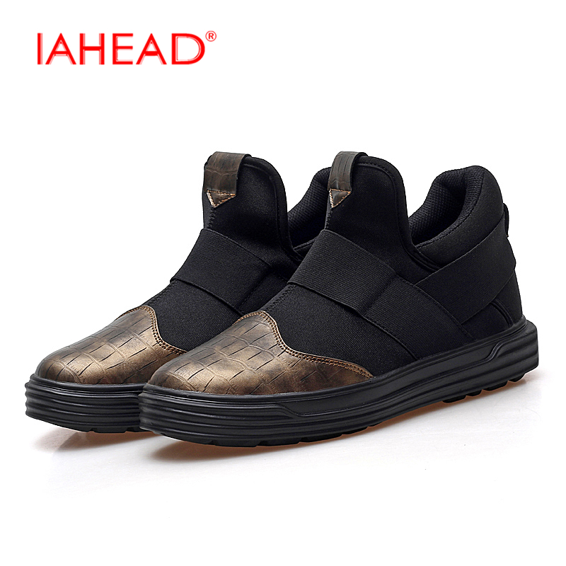 Flats New Casual Shoes Fashion Loafers Shoes Autumn Winter Fashion Shoes Soft Breathable Shoes Plus Size 38-47 MQ588 2017 new autumn winter british retro men shoes zipper leather breathable sneaker fashion boots men casual shoes handmade
