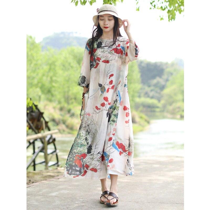 Tunika Maxi Shirt Doppelschicht Sommer Gre Frauen Floral Damen Lange L ssig Halbermel Frau Strandkleid Plus zSVpUqM