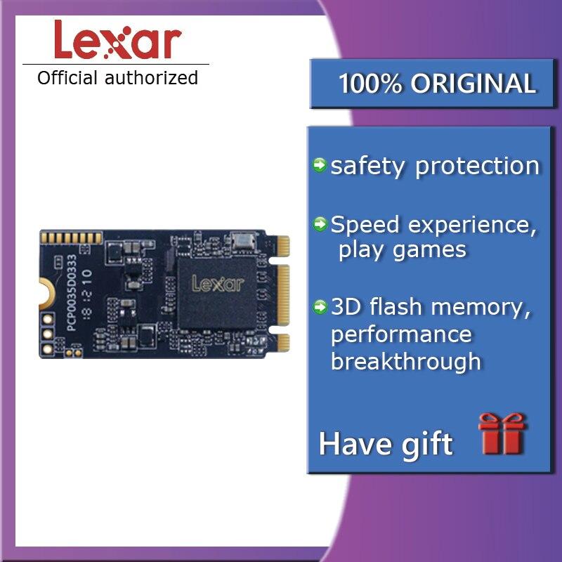 Lexar NVMe SSD M.2 2242 512GB m.2 disque dur SSD HDD hd ssd m2 2242 nvme 128gb 256GB disque dur pour ordinateur portable PC portable NM520 PCIe