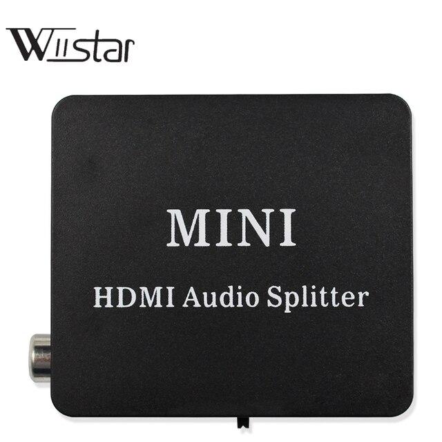 Extracteur Audio HDMI vers HDMI, convertisseur daudio stéréo avec HDMI TOSLINK SPDIF + 3.5mm