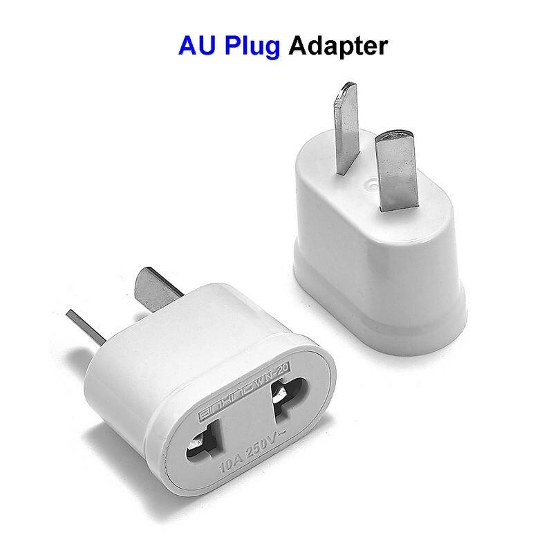 AU Australian Power Adapter 2 Pin EU European US To AU Australia Travel Plug Adapter Outlet Electrical Charger Sockets