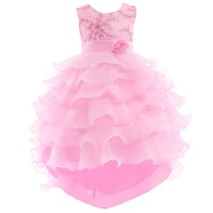 Robe fille/летние платья для девочек детское платье принцессы для свадебной вечеринки, дня рождения одежда для малышей платья для выпускного ве...