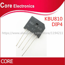 200 PZ/LOTTO KBU810 KBU 810 8A 1000V diodo raddrizzatore a ponte nuovo