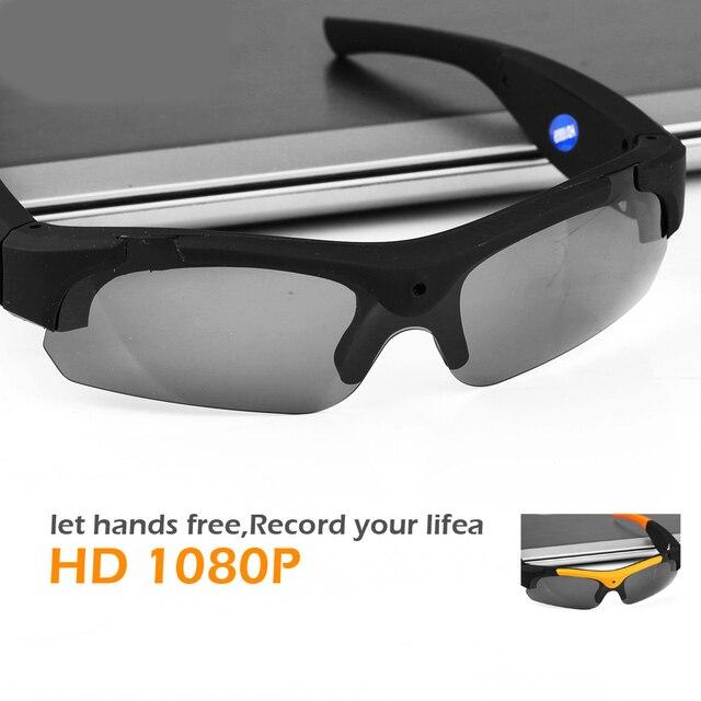 1eb34d7fb1 FULL HD Outdoor Sport Glasses Camera Polarized Mini Sunglasses Digital  Video Recorder Secret Security Camcorder Cam. Price