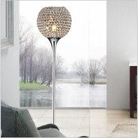 2016 Горячая Распродажа роскошный современный мимоходом K9 Кристалл светодио дный E27 Торшер для гостиной номер Декор свет