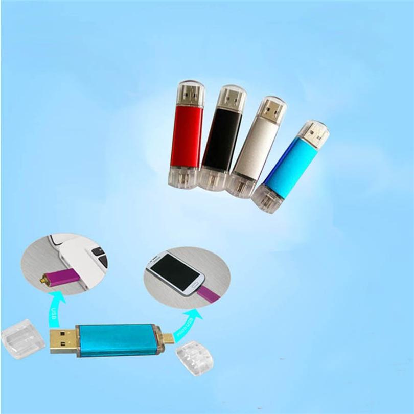 32 ГБ USB2.0 Flash drive высокое Скорость отточить подключения накопителя u-диск Флеш накопитель card reader для настольный ноутбук телефон новый A30