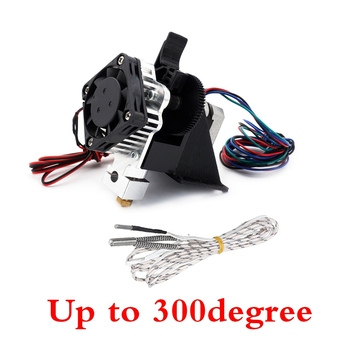300degree Assembled 3D PrinterTitan Aero Upgrade V6 hotend extruder full kit titan extruder For Reprap mk8 Prusa i3 ANET printer фото