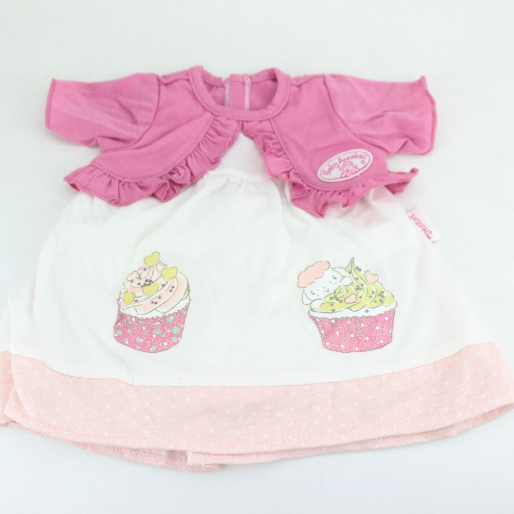Beautiful dress wear fit 43cm Baby Born zapf, Children best Birthday Gift(only sell clothes)