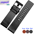 Plain Leather Watchband adapter DZ1399 DZ4280 DZ4290 2426 28mm Diesel watch strap