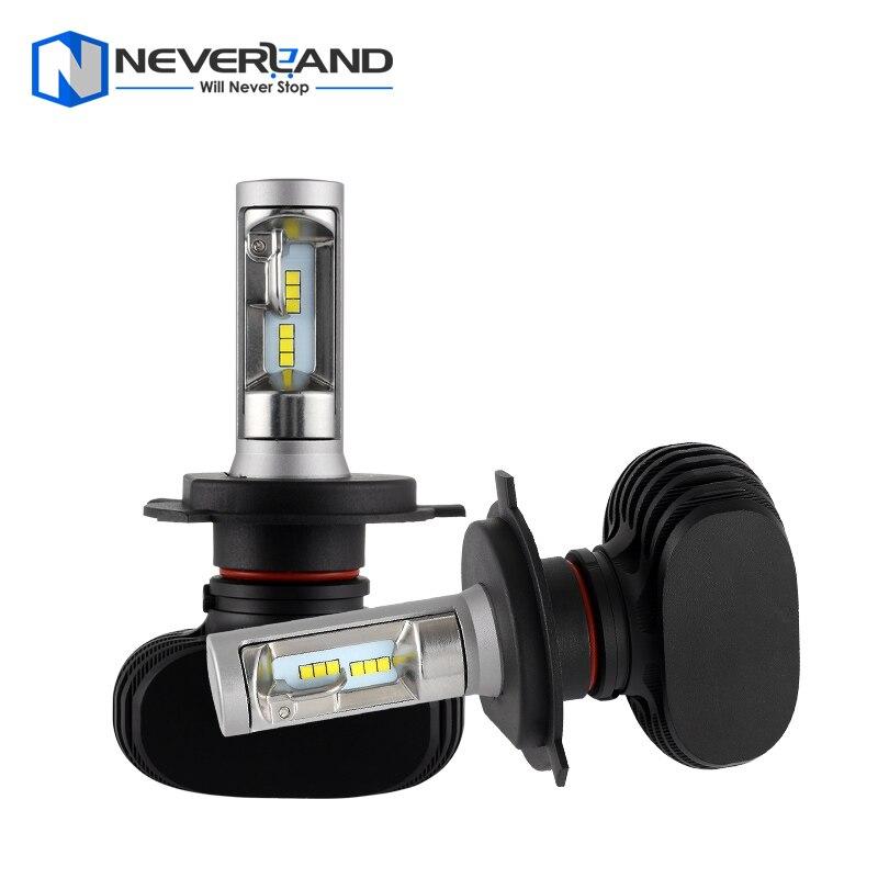Prix pour NEVERLAND H4 9003 HB2 Salut Lo Faisceau 50 W 8000LM 6500 K CSP Puces LED Conversion De Phare De Voiture Kit Brouillard Lampe Ampoule DRL Super blanc