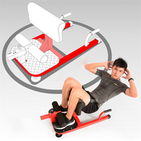 NEW Sit Up Exerciser Equipment Waist Training Push Up Bar Arm Muscle Hip Squat Trainer Home Sport Fitness Machine XYWJ 8404