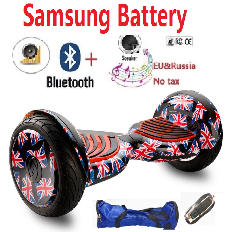 10 inch Electric self balancing scooter hoverboard skateboard boosted board electric hover board 2 wheel skateboard oxboard hoverboard 6 5inch with bluetooth scooter self balance electric unicycle overboard gyroscooter oxboard skateboard two wheels new