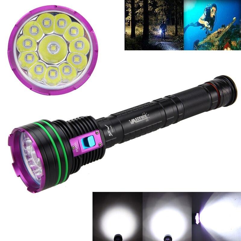 Здесь продается  Brightness 12000LM Waterproof Torch 12X XM-L2 LED Diving Flashlight 18650  Свет и освещение