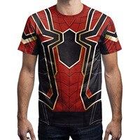 New Arrivals Men 3d T Shirt Print Spider Armor Summer Tops Short Sleeve Tees Brand Tshirts