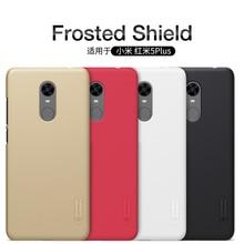 Redmi 5 Plus case NILLKIN Frosted shield Phone case For Xiaomi Redmi 5 Plus Case + Nillkin Screen protector Film