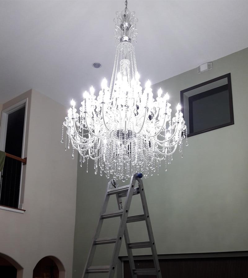 modern 45-arms Stor led ljus Ljuskronor för kyrkan vardagsrum Hotell - Inomhusbelysning - Foto 4