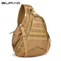 2018 Tactical Bag Camping Hiking Outdoor Sport Sling Bag Nylon Chest Pack Bags Men Shoulder Military
