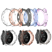 цена на Colorful Frame TPU Case Cover For Garmin Forerunner 245M / 245 Protector Shell Watch Frame For Garmin Forerunner 245M / 245 case