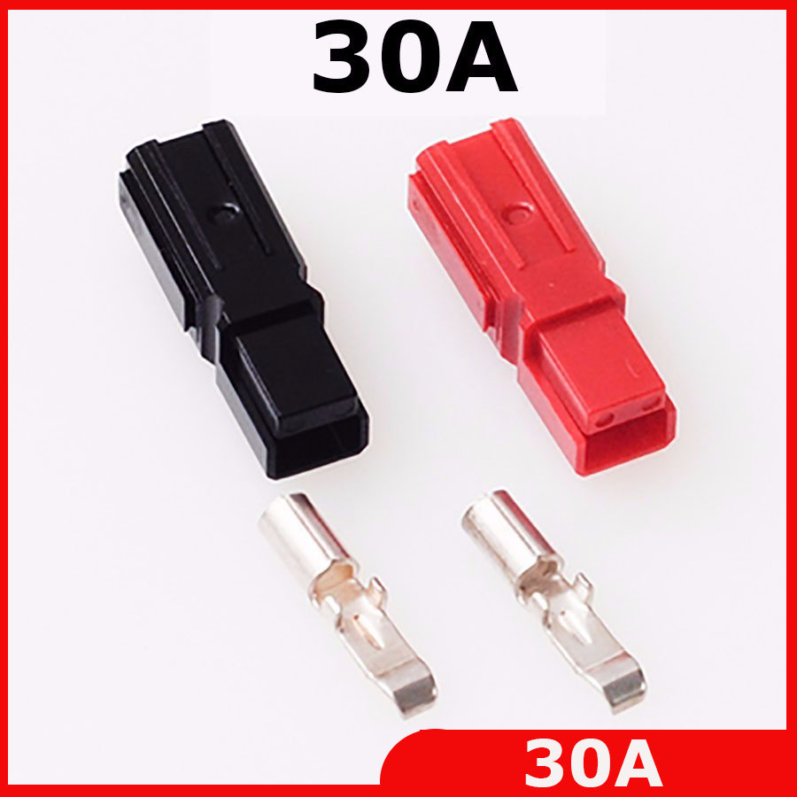 40pair 80pcs New battery 30A 600V Power Connector Battery Plug terminals for E bike forklift electrocar