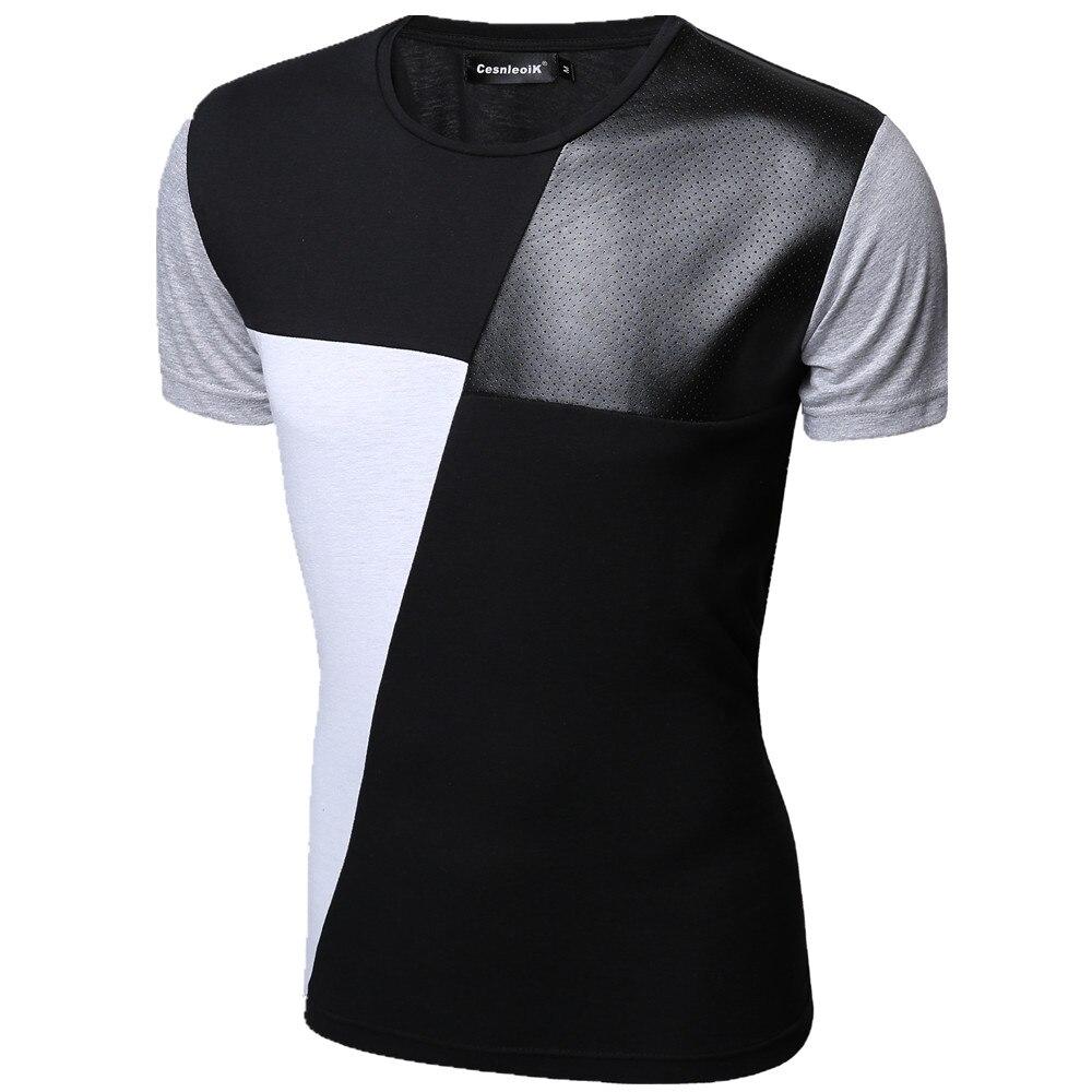 Cheap 17 Designs Mens T Shirt Slim Fit Crew Neck T Shirt: 8 Designs Mens T Shirt Slim Fit Crew Neck T Shirt Men
