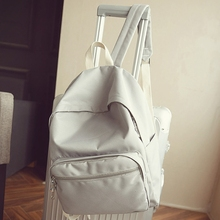 2016 Janpanese desginer женский рюкзак для школы компьютерной рюкзак сплошной Цвет детская школьная сумка для подростков Обувь для девочек Back Pack