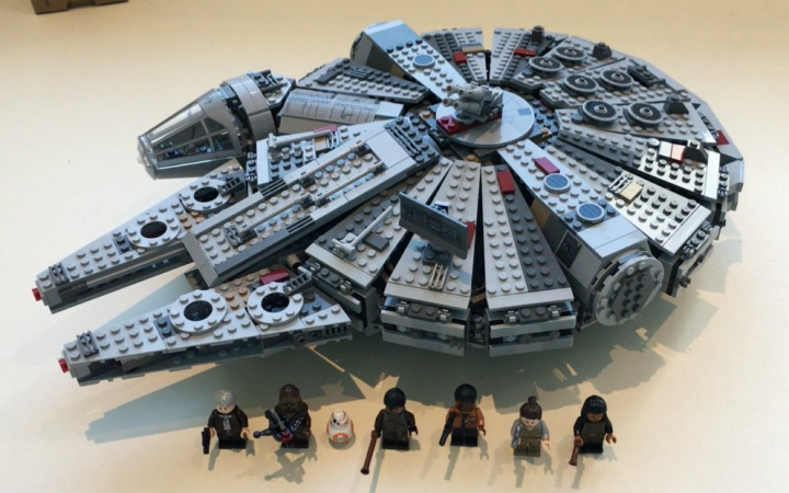 05007 Star Wars Millennium Falcon Figure Toys Model building blocks kits marvel Kids Toy Compatible with lego