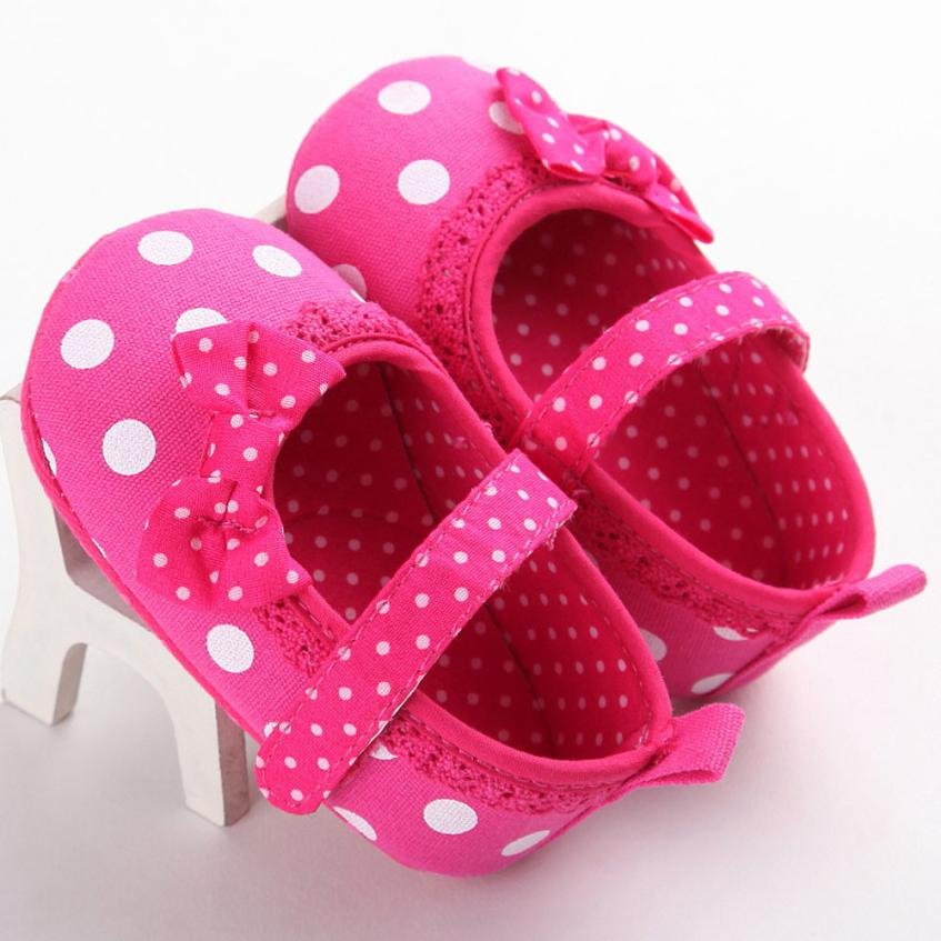ARLONEET 2017 Baby Infant Kids Girl Soft Sole Crib Toddler Newborn Shoes