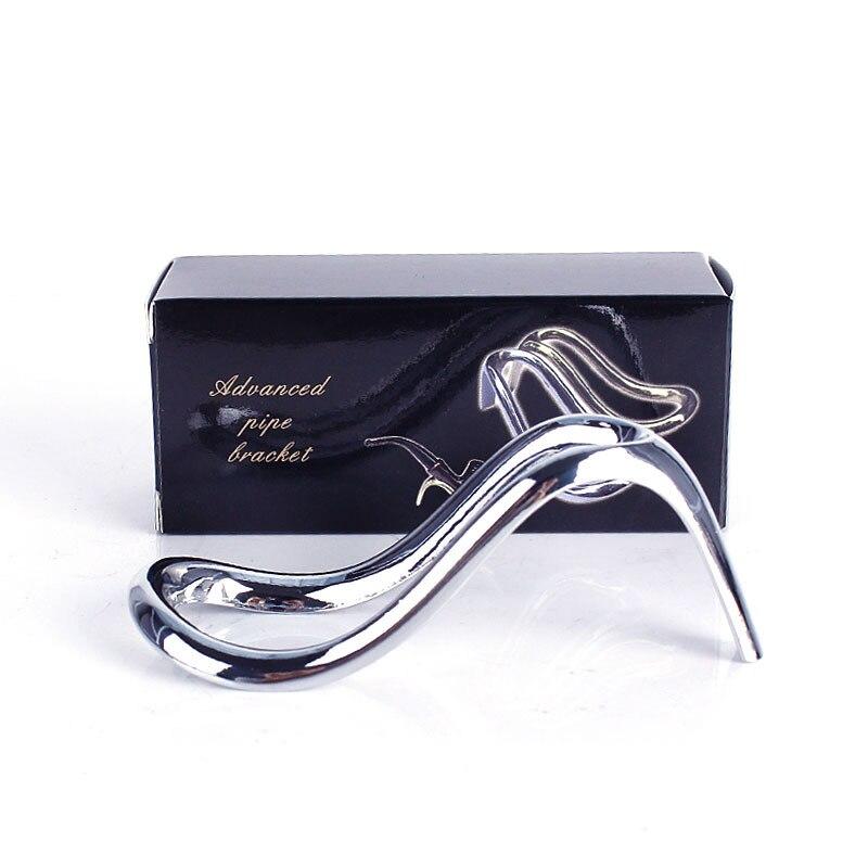 1 Tabaco Tacón Alto Diseño Pipa Unids Oro Stent Zapatos Bastidor De Ya1xrnY
