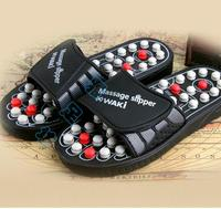 Spring, summer, plantar acupoint massage health care keeping in good health slippers Tai  rotating foot care tools
