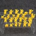 12 Pçs/lote Ornamentos Chaveiro & figuras Pikachu Figura PVC Keychain Chaveiro
