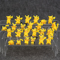 12Pcs/lot Pikachu PVC Figure Keychain Ornaments Key Chain & figures Keyring
