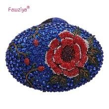 Fawziya Frauen Handtasche Big Strass Blume Kupplung Geldbörsen Und Handtaschen Für Mädchen