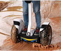 19inch Big wheel off road smart stand up leanbar self balance scooter,personal chariot transporter