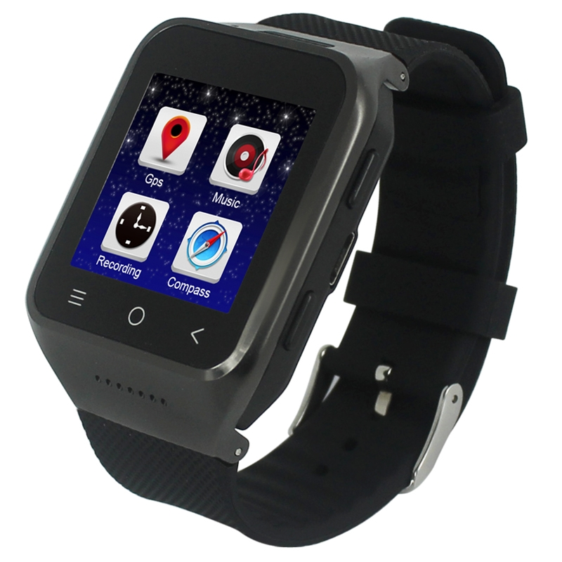 ZGPAX S8 Smart Watch Phone, 512MB+4GB, Built-in 8GB TF Card, Android 4.4.2, MTK6572 Dual Core 1.2GHz, WiFi, GPS, Network: 3G цена