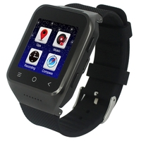 ZGPAX S8 Smart Watch Phone, 512MB+4GB, Built in 8GB TF Card, Android 4.4.2, MTK6572 Dual Core 1.2GHz, WiFi, GPS, Network: 3G