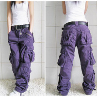 New Arrival Cargo Pants Women Hip Hop Loose Jeans Baggy Pants For Women SHIERXI